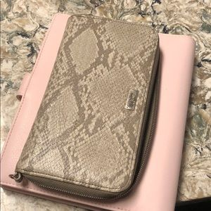 Jewell snakeskin wallet thirty-one